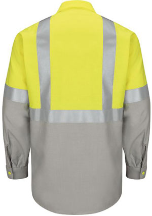 Yellow / Gray - Back