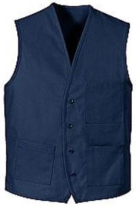 V-Neck Button Front Vest