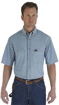 Wrangler® Riggs Workwear® Chambray Work Shirt
