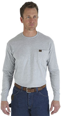 Wrangler® Riggs Workwear® Long Sleeve Pocket Shirt