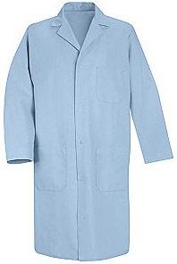 Red Kap Men's Four Gripper Lab Coat