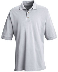 Red Kap Men's Basic Pique Pocketless Polo Shirt