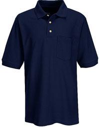 Basic Pique Polo w/Pocket
