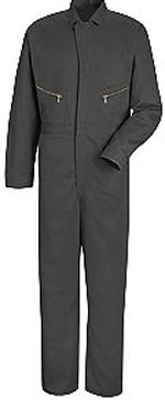 Red Kap Zip Front Cotton Coverall
