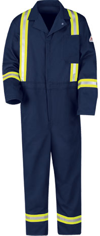 Flame Resistant Classic Coverall with Reflective Trim