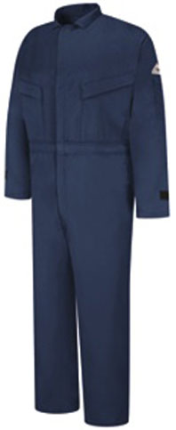 Flame Resistant 6oz. Summer Coverall With Leg Zippers