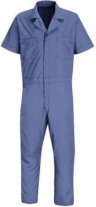 Red Kap Short Sleeve Speedsuit