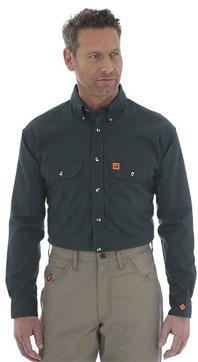 Wrangler® Twill Work Shirt