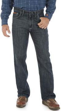 Wrangler® FR Dark Wash Vintage Boot Cut Jean