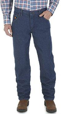 Wrangler® FR Flame Resistant Regular Fit Lightweight Denim Jean