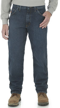 Wrangler® Flame Resistant Midstone Relaxed Fit Advanced Comfort Jean