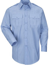 Mens New Dimension® Plus Poplin Long Sleeve Shirt