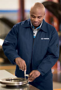Mazda Technician Slash Pocket Jacket