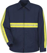 Red Kap Enhanced Visibility Perma-Lined Jacket