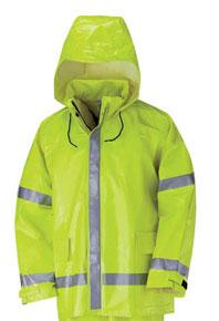 Bulwark Hi-Visibility Flame Resistant Rain Jacket