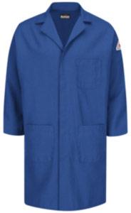 Bulwark Flame Resistant Nomex Concealed Snap Front Lab Coat