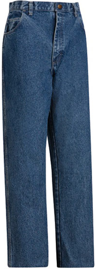 Flame Resistant Stone Washed Loose Fit 14.75 oz Denim Jean