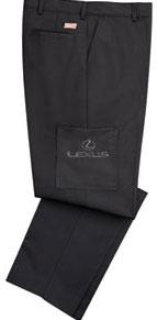 Lexus Plain Front Service Pant