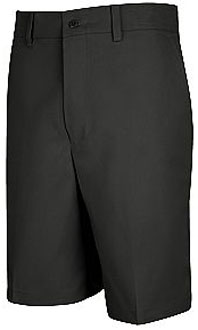 Men's Plain Front Uniform Short