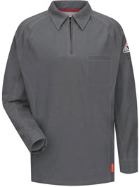 Bulwark FR iQ Long Sleeve Polo