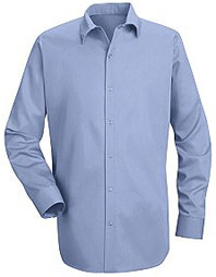 Red Kap Men's 100% Cotton Specialized Pocketless Shirt