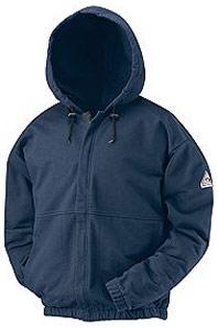 Flame Resistant Zipper Front Sweatshirt