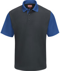 Performance Knit® Color-Block Polo