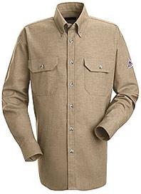 Bulwark Flame Resistant 6oz. ComforTouch™ Dress Uniform Shirt
