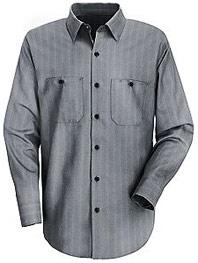 Classic Striped Auto Work Shirt