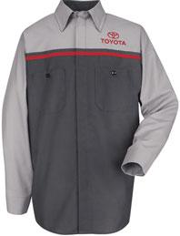 Toyota Technician Long Sleeve Shirt