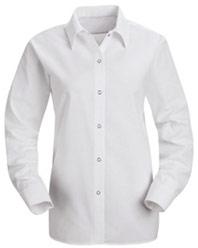Red KapWomen's Specialized Pocketless Long Sleeve Shirt