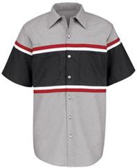Red Kap Short Sleeve Technician Shirt