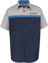 Mazda Technician Short Sleeve Shirt