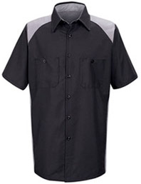 Red Kap Motorsports Short Sleeve Shirt