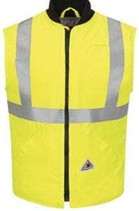 Flame Resistant Hi-Viz Insulated Vest W/Reflective Trim