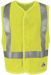 Flame-Resistant Hi-Vis Mesh Vest