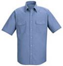 Red Kap Western Style Uniform Shirt