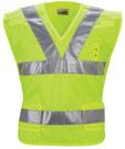 Red Kap Hi-Visibility Breakaway Safety Vest