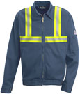 Bulwark Flame Resistant Zip-in / Zip Out Jacket w/ Reflective Trim