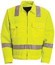 Red Kap Hi-Visibility Ike Jacket - Class 2, Level 2