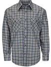Flame Resistant ComforTouch Plaid Uniform Shirt