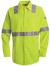 Flame Resistant Hi-Visibility Long Sleeve Work Shirt